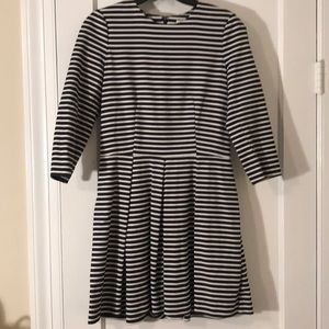 Gap A-Line Striped dress
